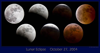 Lunar Eclipse, October 27, 2004