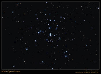 M36 - Open Cluster