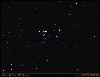 NGC 2169, The '37' Cluster