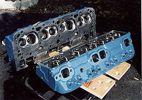418 Small Block Chevy Engine - Noel's 1982 Corvette Pages