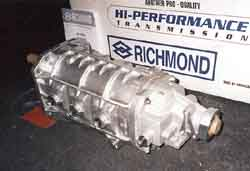 [New Richmond 6 Speed Transmission Right Out Of The Box, Left Rear; Click to See a Larger Image]