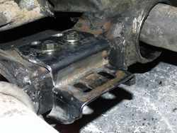 [Crossmember Rear Transmission Mount Pad; Click to See a Larger Image]